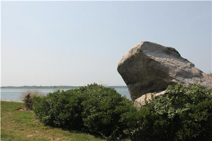 Woods Hole Woods Hole vacation rental - Toad Rock provides great climbing for kids and adults alike