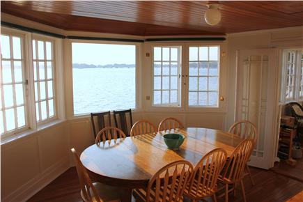 Woods Hole Woods Hole vacation rental - Dining room feels like you are eating at sea!