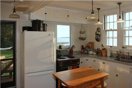Woods Hole Woods Hole vacation rental - Well-stocked kitchen, cook facing the water!