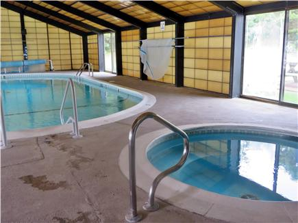 Brewster Cape Cod vacation rental - Indoor swimming pool. Hot tub and outdoor pool adjacent.