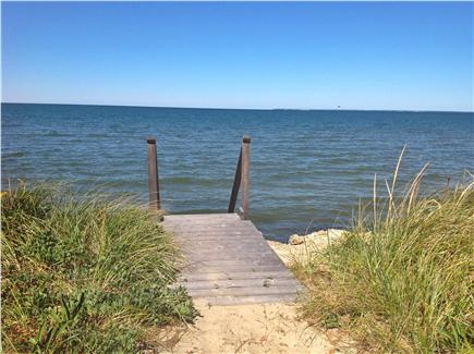 Brewster Cape Cod vacation rental - Stairs to the beach