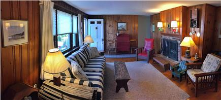 Old Village, Chatham Cape Cod vacation rental - Comfortable pine-paneled living room