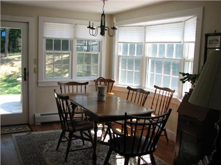 Old Village, Chatham Cape Cod vacation rental - Bright and cheerful dining area