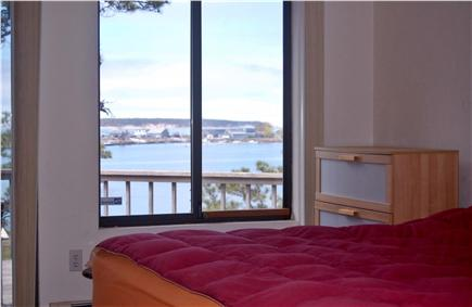 Wellfleet Cape Cod vacation rental - View from bedroom #4, bedrooms includes wall mounted flat screen
