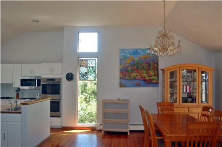 Wellfleet Cape Cod vacation rental - Open living, dining and kitchen area