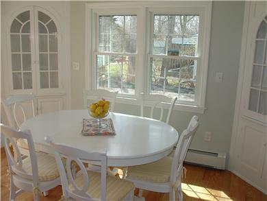 Falmouth Cape Cod vacation rental - Sunny dining area
