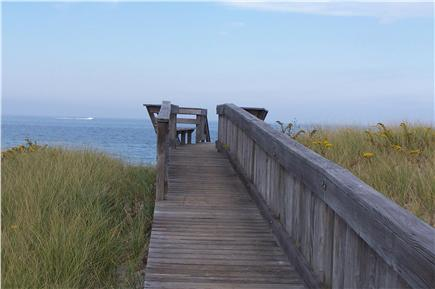 East Sandwich Cape Cod vacation rental - Boardwalk to beach. Easy access from parking lot or street