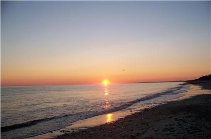 East Sandwich Cape Cod vacation rental - Sunrise over Cape Cod Bay. What a way to start a new day!