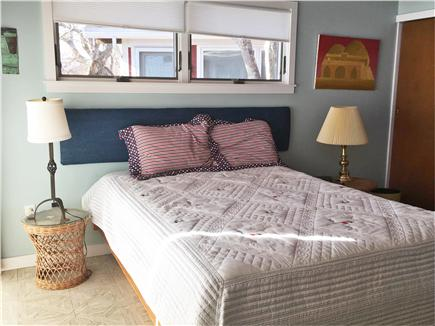 Centerville Centerville vacation rental - The master bedroom with doors to the deck