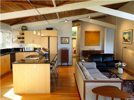 Wellfleet Cape Cod vacation rental - Vaulted ceilings, interesting architecture