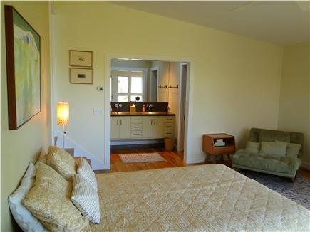 Wellfleet Cape Cod vacation rental - Showing Master bath, with walk in shower