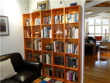 Wellfleet Cape Cod vacation rental - Cozy library