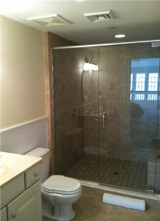 Falmouth Heights Cape Cod vacation rental - Luxurious bathrooms including jacuzzis and glass showers.