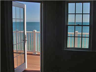 Falmouth Heights Cape Cod vacation rental - Step outside your patio door to enjoy your private beach!