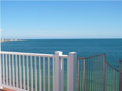 Falmouth Heights Cape Cod vacation rental - Enjoy deep blue colors of Nantucket Sound from your deck!