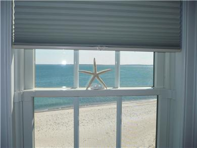 Falmouth Heights Cape Cod vacation rental - Your private sandy beach can be seen from your bedroom as well.