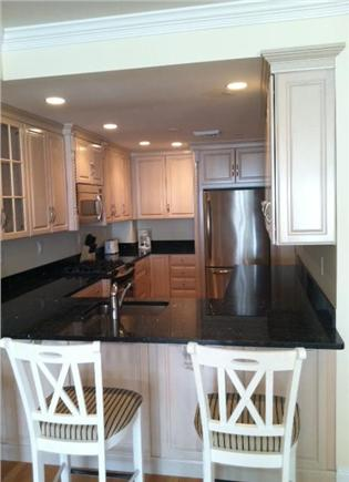 Falmouth Heights Cape Cod vacation rental - State of the art kitchens with stainless steel and granite.