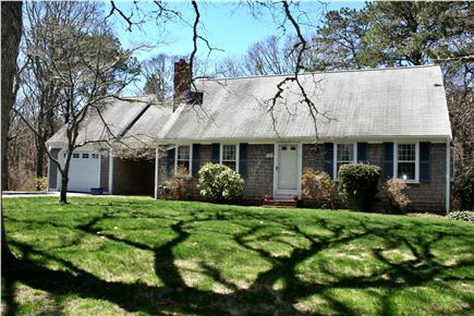 Brewster Cape Cod vacation rental - Front of house - Large yard and a garage to store your bikes!