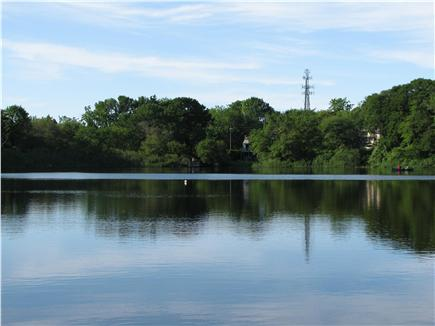Brewster Cape Cod vacation rental - Enjoy the peaceful and serene pond