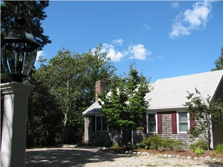 Brewster Cape Cod vacation rental - Front view of the home