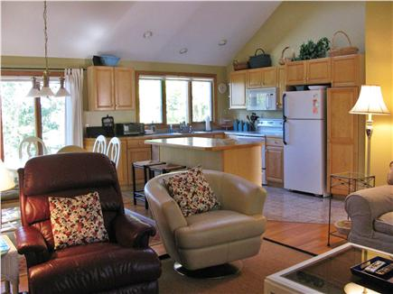 Brewster Cape Cod vacation rental - Kitchen area, open and fully stocked beautiful views of the pond