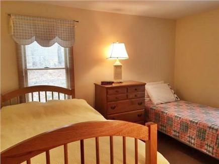 Brewster Cape Cod vacation rental - Second bedroom main floor, double and twin bed