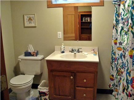 Brewster Cape Cod vacation rental - Lower level full bath with tub/shower