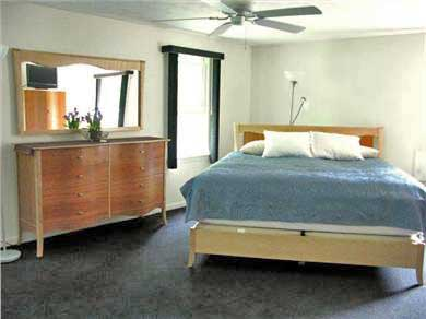 East Falmouth Cape Cod vacation rental - King Master Bedroom 19' x 14' on 2nd floor.
