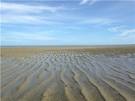 Brewster, north of 6A Cape Cod vacation rental - Breakwater Beach at low tide