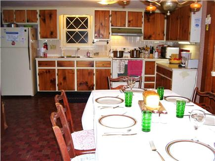 Brewster, north of 6A Cape Cod vacation rental - Eat- in kitchen opposite view