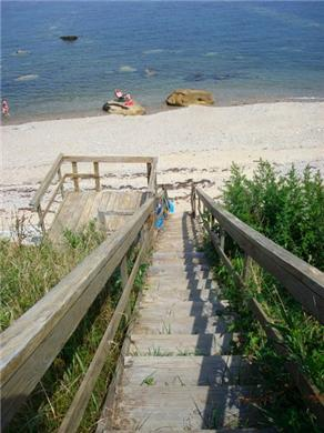 Plymouth MA vacation rental - Steps to the Beach