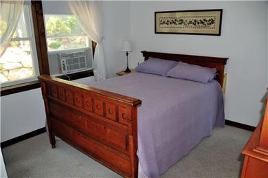 Wellfleet, south of town cente Cape Cod vacation rental - Bedroom #2 (2nd floor) Full Sized bed and deck, A/C