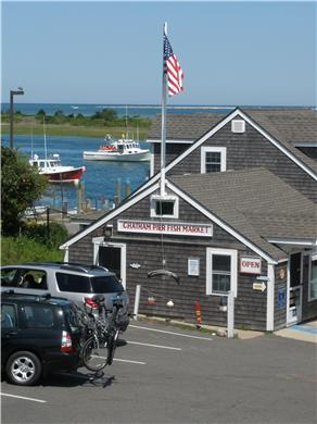 Chatham Cape Cod vacation rental - End of street fish market