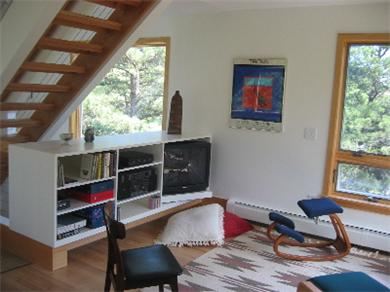 So.Wellfleet Cape Cod vacation rental - Music and entertainment area with cable TV, video and DVD players
