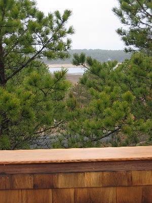 So.Wellfleet Cape Cod vacation rental - View of bay from third floor deck of Tree House in S. Wellfleet