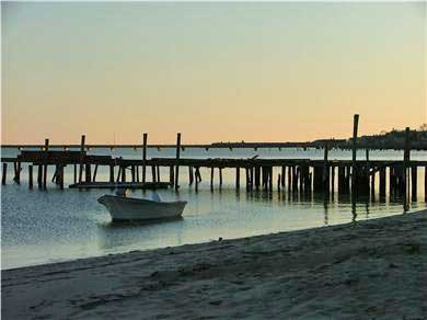 Provincetown Cape Cod vacation rental - Sunset at the beach across the street from the property