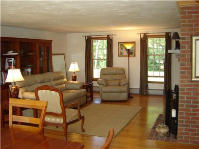 Brewster Cape Cod vacation rental - Spacious living room
