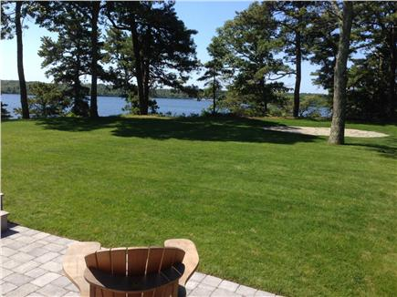 Brewster Cape Cod vacation rental - New landscaping: Quality lawn with patios