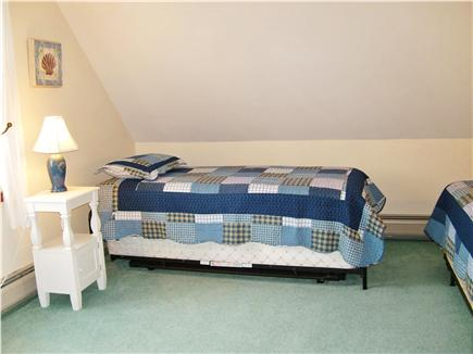 North Eastham Cape Cod vacation rental - Second Floor Bedroom with twin bed and twin/trundle
