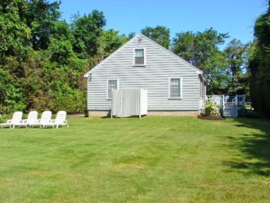 Dennis Cape Cod vacation rental - Large back yard with outdoor shower