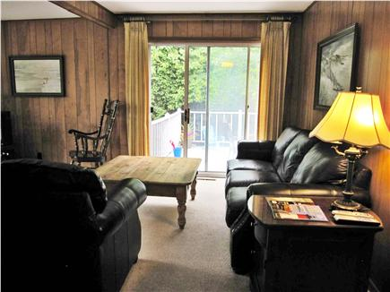 Dennis Cape Cod vacation rental - Living room with cable TV and DVD player
