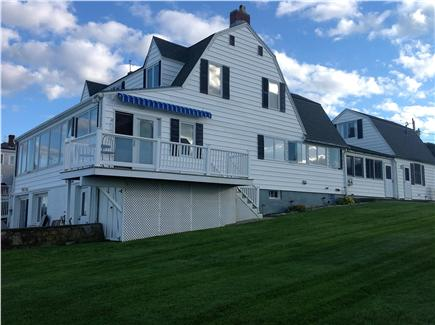Plymouth, Priscilla Beach MA vacation rental - View of the house & yard...oceanside