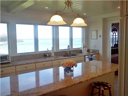 Plymouth, Priscilla Beach MA vacation rental - Newly renovated Kitchen with beautiful ocean views
