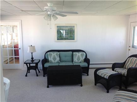 Plymouth, Priscilla Beach MA vacation rental - ''Breezeway'' with sitting area and table for 4