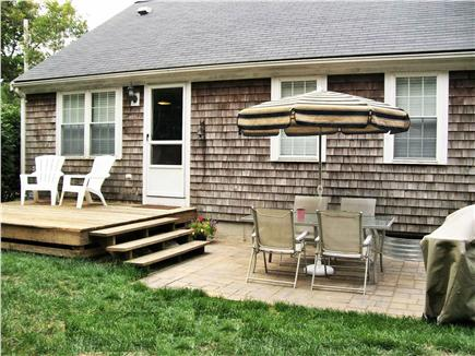 Yarmouth Port Cape Cod vacation rental - Deck, Patio and Grill