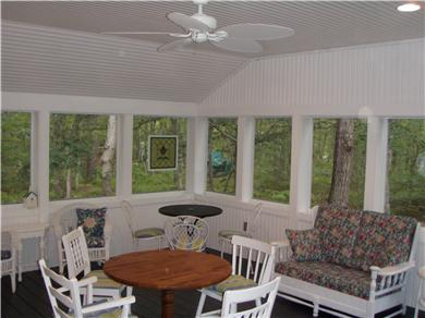 Brewster Cape Cod vacation rental - Covered/screened in porch