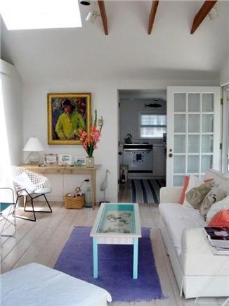 Wellfleet Cape Cod vacation rental - Living room with skylight
