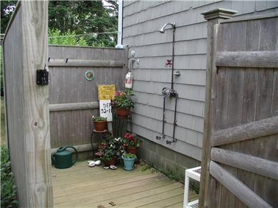 West Harwich Cape Cod vacation rental - Wonderful outdoor shower. Take one under the stars.