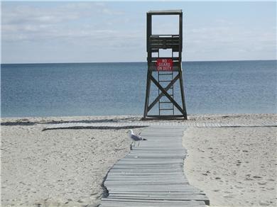 West Harwich Cape Cod vacation rental - Pleasant Street Beach just .4 miles to walk.