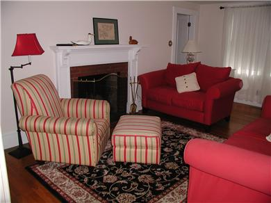 West Harwich Cape Cod vacation rental - Relax with a book or watch the game.